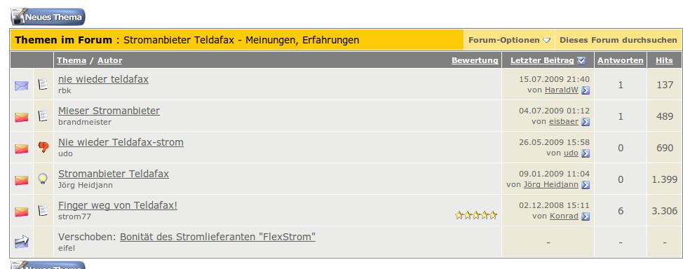 teldafax forum
