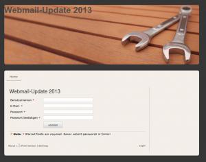 webmail-update